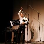 Frontière/Grens/Border : Michel Maillard interprétant une pièce de Jean-Louis Poliart