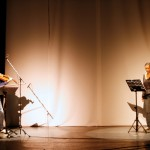 Frontière/Grens/Border : Jacques Dupriez et Sophie Bachir, interprètes d'une pièce de Thierry Paste