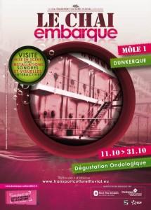 """Affiche du spectacle """"Le Chai embarque"""""""